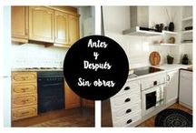 Before & After...  / Diy + ideas