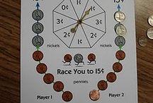 Math Centers- money