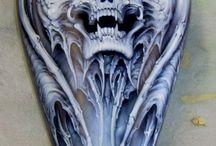 custom airbrushing / by John D'Amico