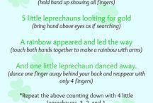 Finger plays / by Rebekah Bruyere