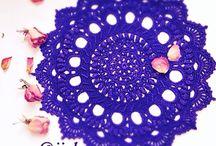 Вязание - салфетки, скатерти
