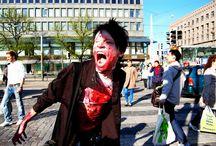 Zombiewalk Hellsinki 2012