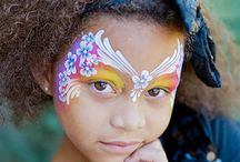 Lisa Joy Young / face painting by Lisa Joy Young