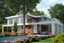 House Exteriors / House Designs