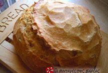Ψωμιά / ψωμάκια / Λευκά, ολικής, με προζύμι ή χωρίς, είναι όλα υπέροχα!