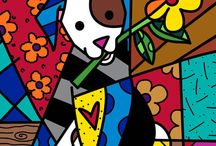 Romero Britto / by Teresa Deferrari