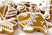 Vianoce pečenie, jedenie a dekoracie