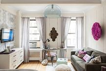 Small apartment ideas / by Emily Yates