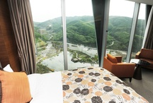 Convention Hotel Superior Room in High1 Resort / [Convention Hotel Superior Room in High1 Resort] ; Photo sketch in the High 1 Ski Resort in Jungsun, South Korea on June 7th, 2013.