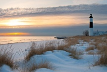 Michigan Lighthouses / Here's a collection of some of Michigan's 115 Great Lakes lighthouses. / by Pure Michigan