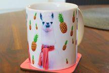 llama mugs.