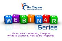 """Webinar on """"Life on a UK University Campus What to Expect and How to be Prepared"""