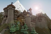 Minecraft / Castle and building ideas