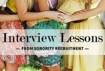 Recruitment 2014 / What's better than sorority rush?!