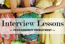 Sorority Recruitment/Rush / by Holly Wimberley