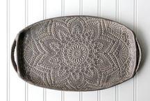 bandejas travessas / ceramica
