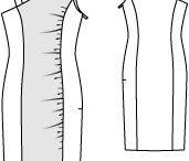 PPC - Jersey / Divers patrons faits pour du tissu jersey ou de la maille (tissu extensible)
