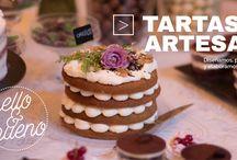 Tartas artesanas / Tartas de receta casera con una estetica muy apetecible