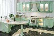 kichen / my ideal kitchen color