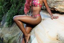 African Print Swimwear / Inspired by the awesomeness of colourful African and exotic prints, Prudence tapped into her passion and built Imani Swimwear, an Australian exotic bathing suit design venture based in Sydney. Currently, Exotica Swimwear makes its sales primarily through this online resource.