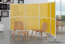 Office Screens / Contemporary office screens. Office partitions, in a great range of finishes.