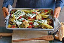 Feta / Gemüse aus dem Ofen