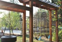 Swing sets/Forts