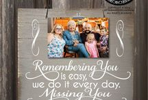 Rememberance items