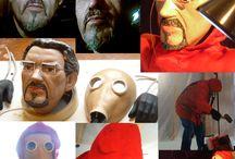Construcción de marionetas / Marionettes construction / Procesos de construcción de marionetas de hilo. Construction process: String puppets