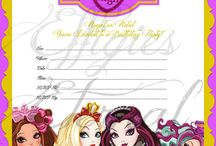 Ever after high party / Leah's 6th.
