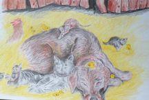 My magic crayons / kreslenie vo voľnom čase