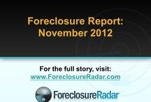 The Foreclosure Report | November 2012 / California Foreclosure Inventory Continues To Decline / by ForeclosureRadar
