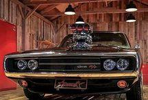 Amerikanische Muscle Cars