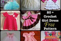 Crochet Babygirl dresses