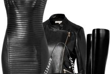 Leather fashion