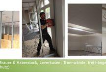 Trockenbau / Trockenbau, Sanierung, Decke, Dach, Dachausbau, Wände, Decken, Rundwand, Brandschutz