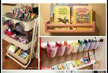 Homeschool Room Ideas / Are you wanting to spiffy up your homeschool room?  Or maybe moving into a new room?  Check out  these homeschool room ideas!