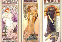 Alphonse Mucha / Art Nouveau Artist.  His work. Been a favorite for years...