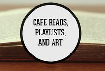 Cafe Reads, Playlists, and Art / There are some things in life that are best experienced when paired with a good cup of coffee. These include a good book, your favorite study time playlist, or your old and tattered sketch pad. This board is a collection of the perfect coffee pairings to make your next cup a little more enjoyable.