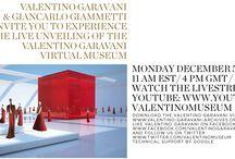 """Valentino IN """" RED"""" / Nella WEB (RED) tra il  Museo Virtuale"""