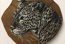 Dipinti su legno di Grassi Katia