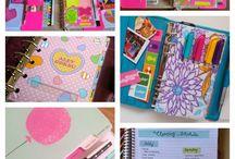 Planners / Cute DIY planners supplies