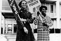 Honor Your Right. Vote. / The right to vote cannot be taken for granted. Throughout U.S. history, women and people of color have had to fight to earn the basic ability to have our voices heard. And the struggle is not over. With new challenges to the Voting Rights Act in many states, our liberties are still in peril.