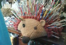 Knitting and yarn / and crochet... / by Jen Berdych