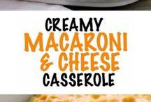 macaroni & cheese casserile