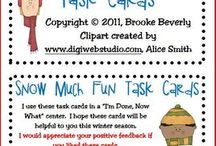 Task Cards Elementary