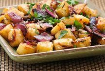 Potatoes and anything that goes with it!!! / by Eucelyn Salinas-Parker