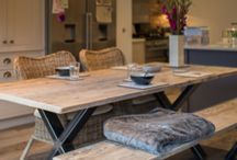 Industrial Style Dining Tables / Beautifully handcrafted industrial Style Dining Table to compliment your kitchen...