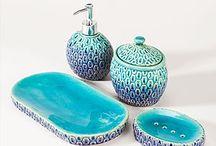 bathroom ides / by Angela Knittel