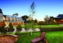 Cleveland Winery / Warm and welcoming, Grange Cleveland Winery sits in the heart of the Macedon Ranges wine country. With glorious views across our vineyard, the property offers modern, architect designed guest suites nestled alongside our historic 1890s Homestead